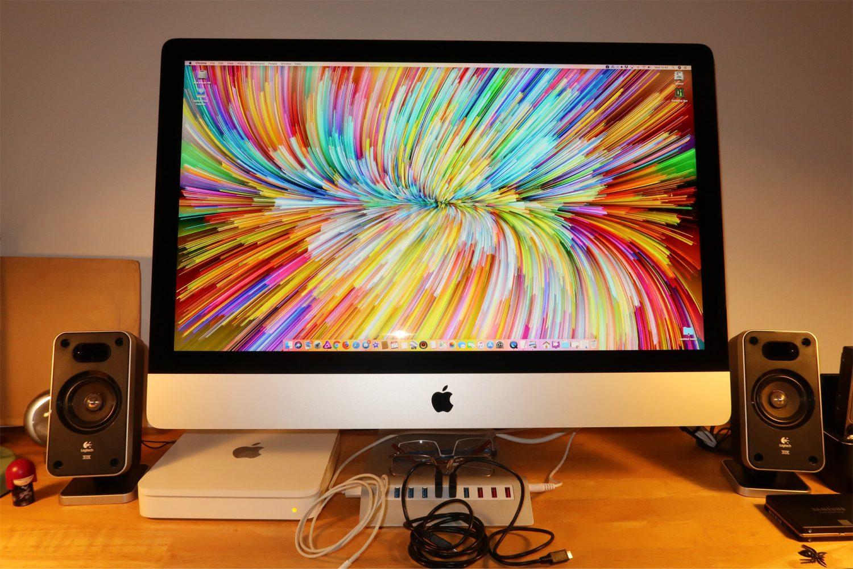 Shiny new iMac