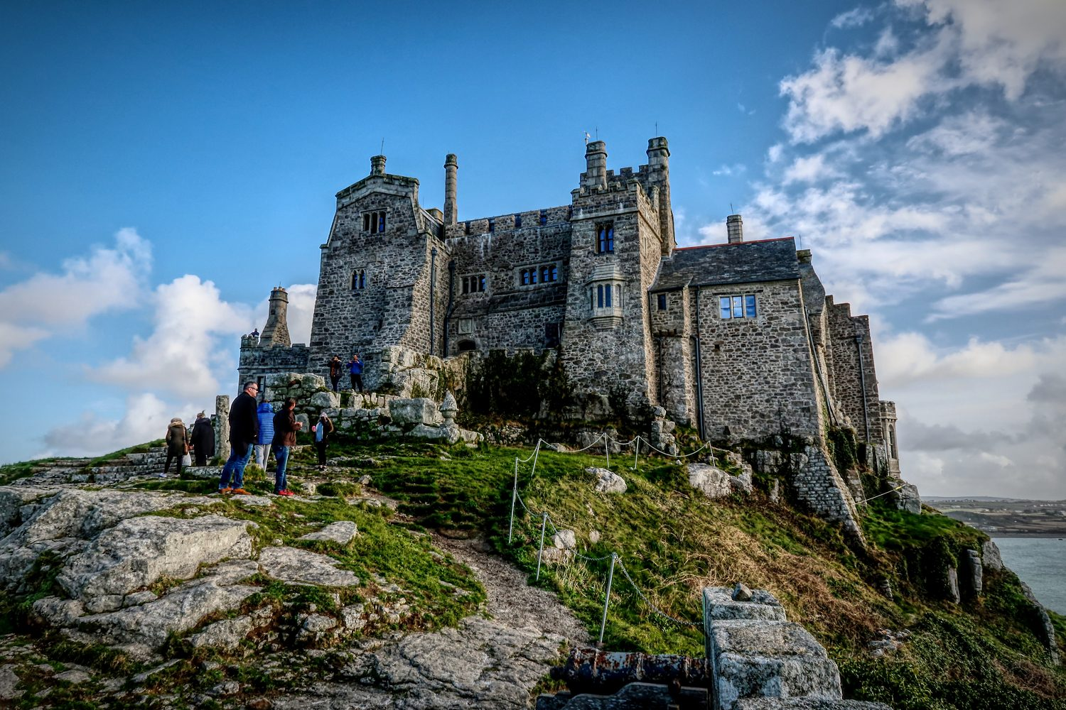 St Aubyn ancestral home on St Michaels Mount