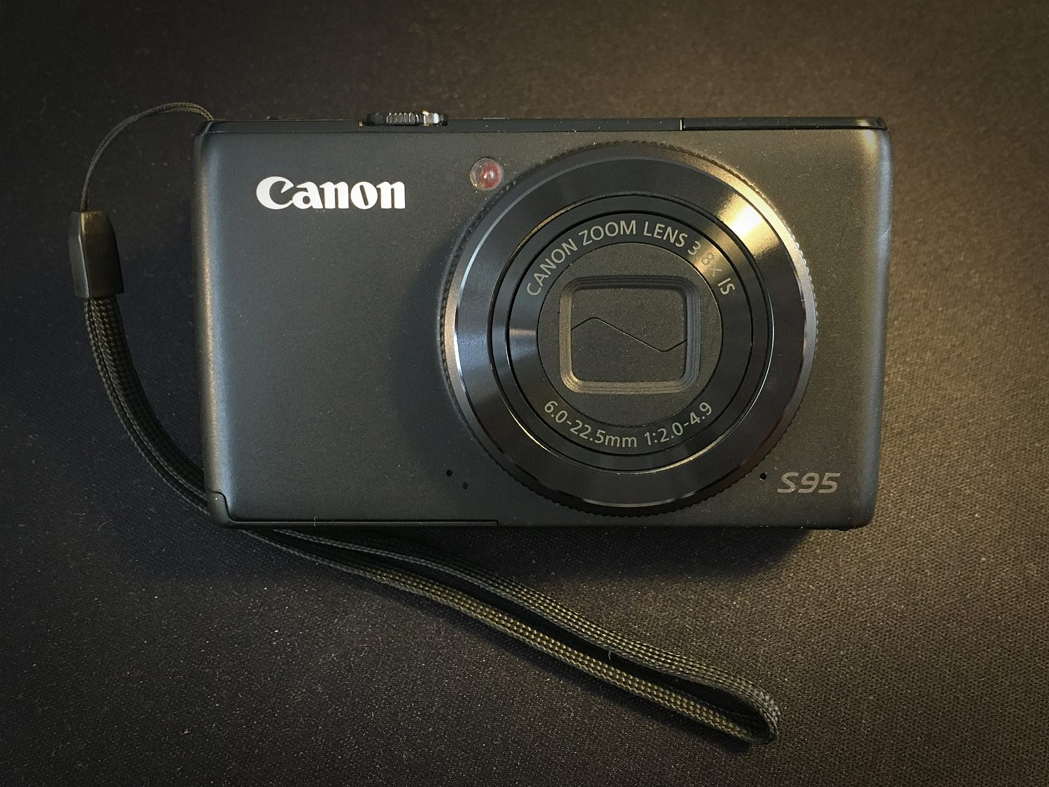 Canon Powershot S95 point and shoot