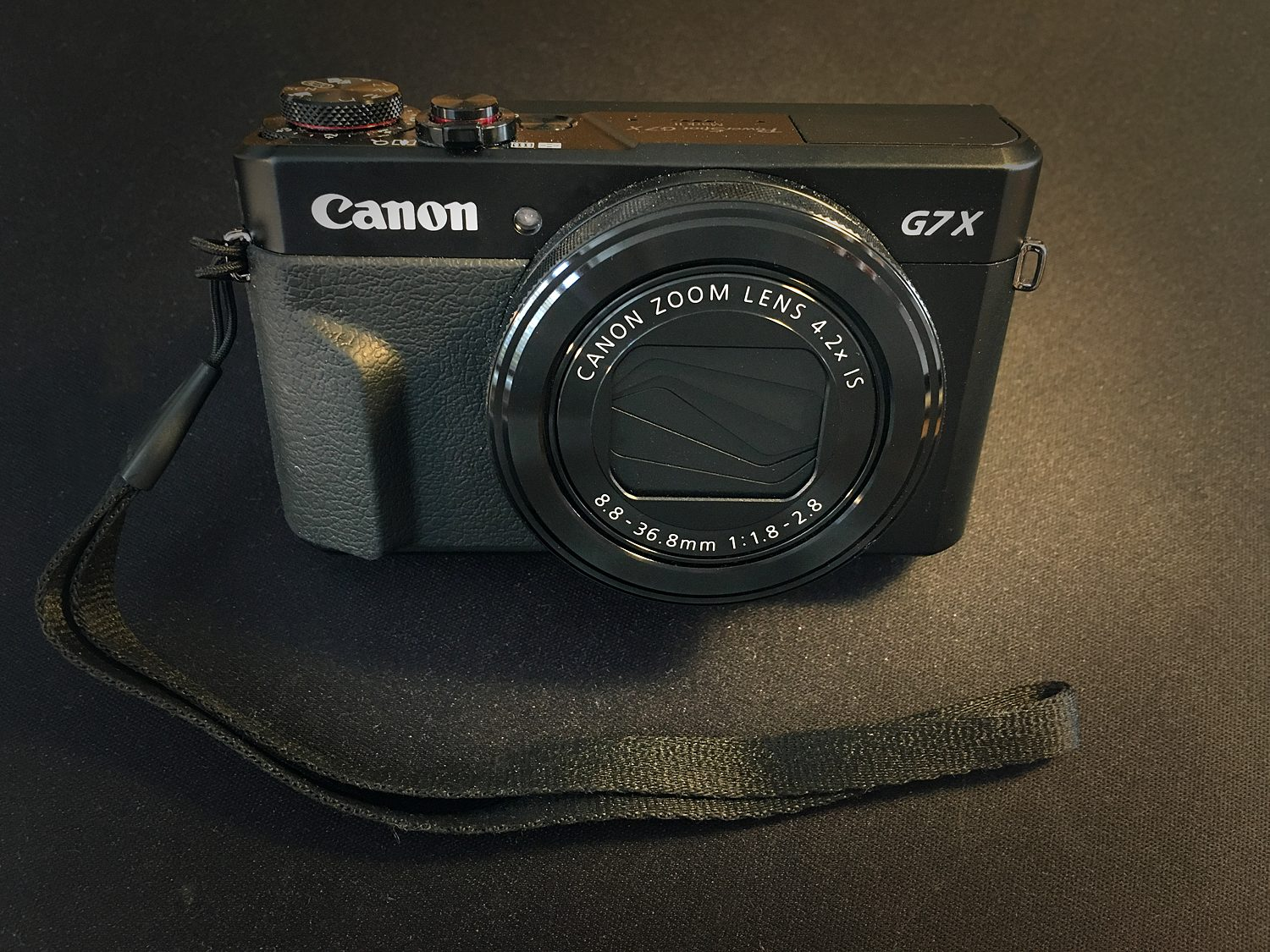 Canon Powershot G7X MkII point and shoot