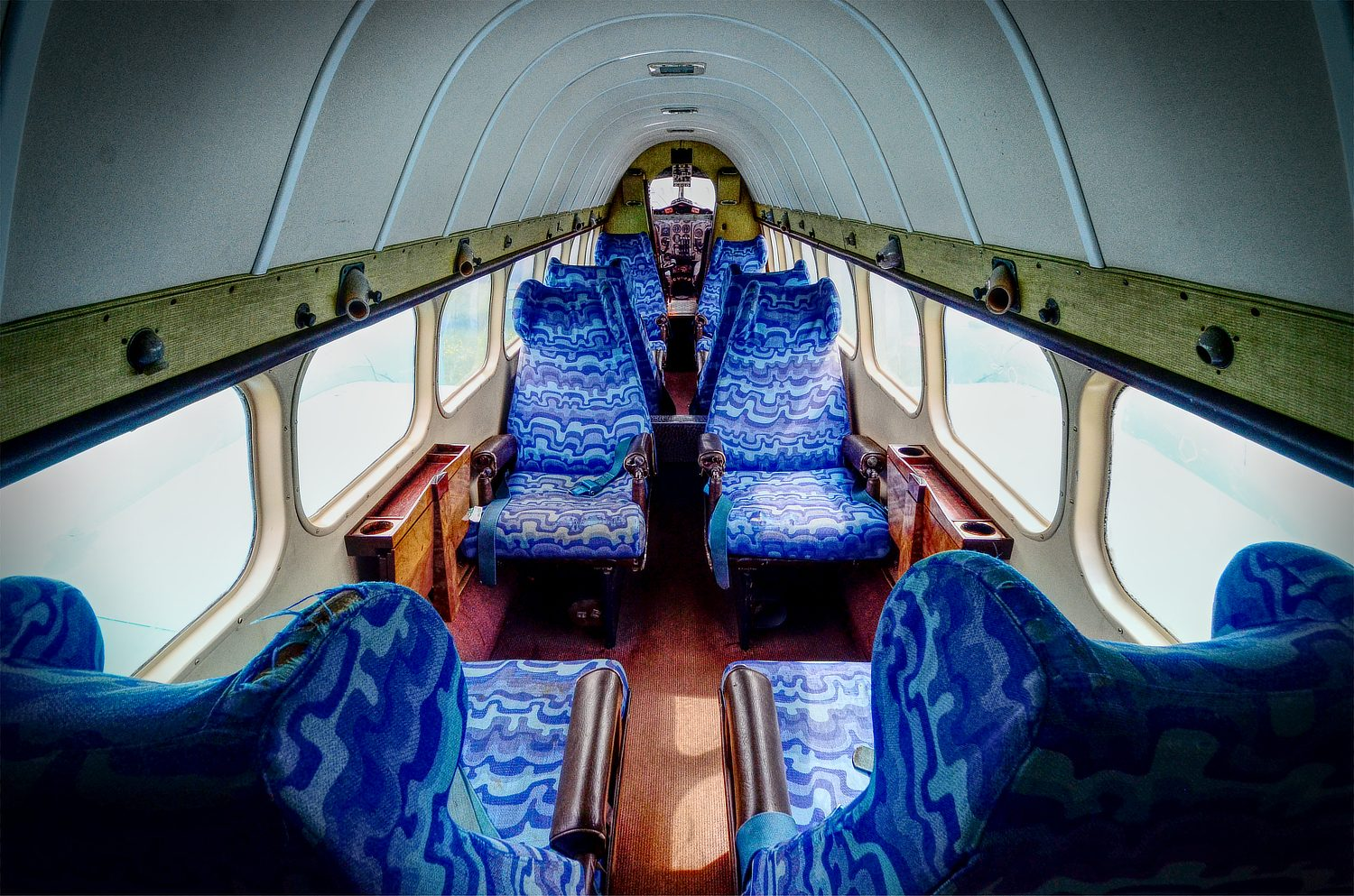 De Havilland Heron cabin interior