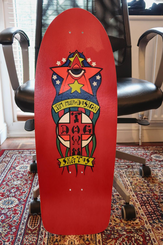 Dogtown Jim Muir Triplane skateboard deck