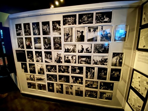 Clash photo wall