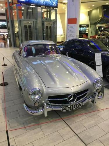 Mercedes 300SL hardtop